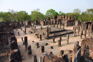 Ruins Polonnaruwa, Sri Lanka