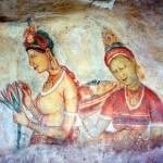 Frescoes of Sigiriya