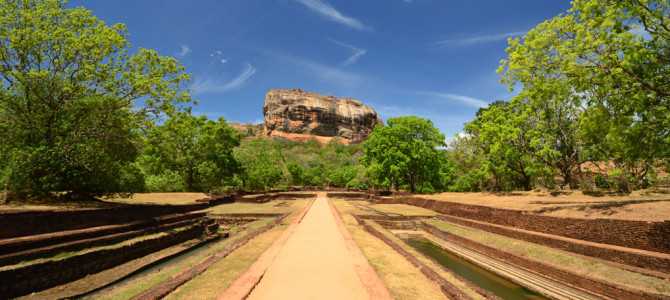 The Sigiriya Rock Fortress