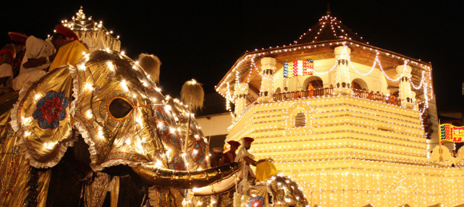 Kandy Esala Perahera (Festival of the Sacred Tooth)