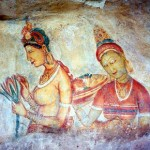 Frescoes of Sigiriya
