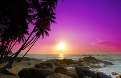 Sunrise on Sri Lanka