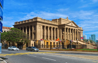 Presidential Secretariat Office in Colombo, Sri Lanka