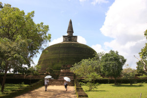 Golden Pinnacle Dagoba Polonnaruwa