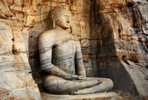 Gal Vihara Buddha Statue, Polonnaruwa